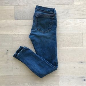 J BRAND blue skinny